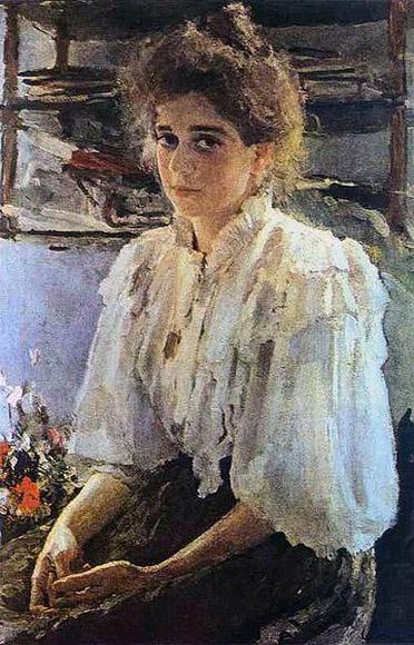 """Она же, """"Солнечная девушка"""", М.Симонович,  чуть постарше. 1895"""