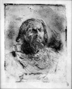 В.Серов. Шаляпин в роли Грозного. 1897