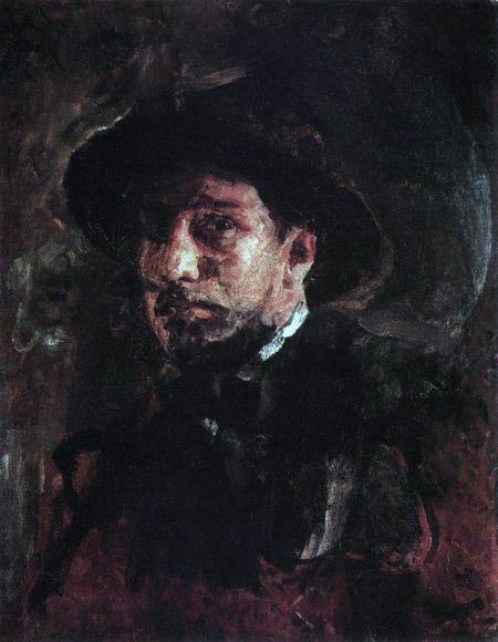 Автопортрет В.Серова. 1885