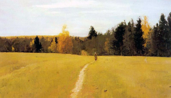 Осень. Домотканово. 1892