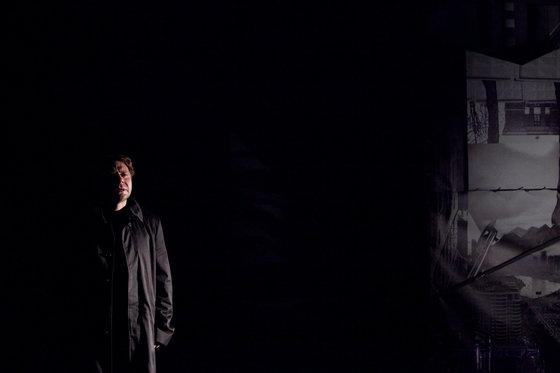 Я боюсь любви. Постановка в Театре Док. Фотография: Максим Лозовик/Afisha.ru