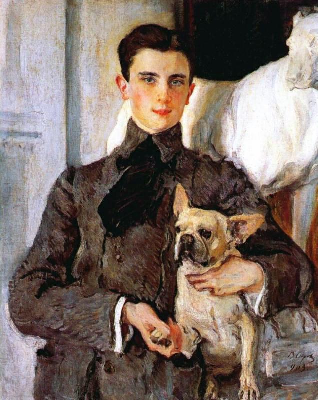Сын Зинаиды Николаевны, Юсупов-младший. 1903