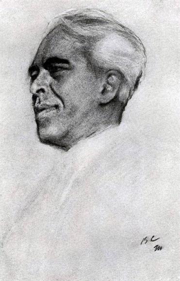 Портрет К.С. Станиславского. 1911 г.