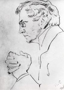 Портрет артиста В.И. Качалова. 1908 г.
