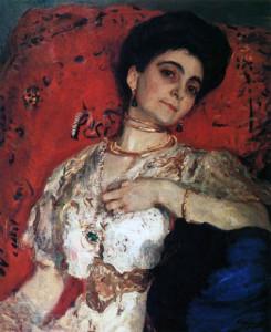 Портрет М.Н. Акимовой. 1908 г.
