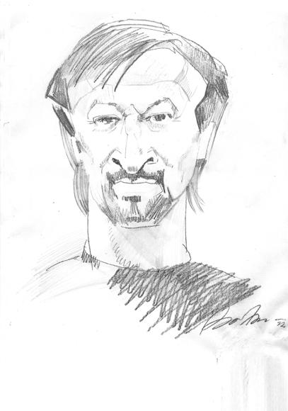 А. Блинов. Портрет Ю.Нечипоренко