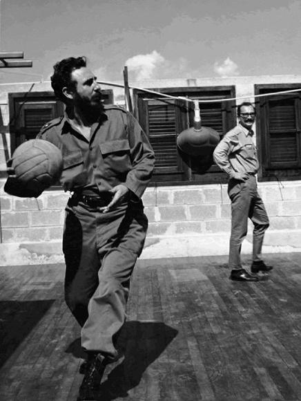 Ф.Кастро и Джанджакомо Ф., Гавана, 1964