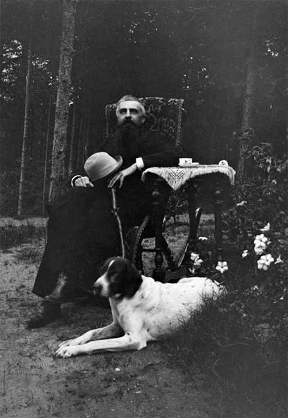 Владимир Соловьев. Фотография Ф. Дила. Выборг. 1890-е. ИРЛИ