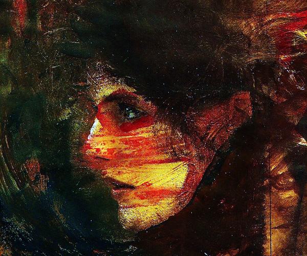 Рисунок-коллаж Яна Никитина, 2009 г.