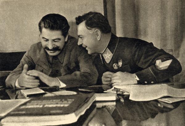 Joseph_Stalin_and_Kliment_Voroshilov,_1935
