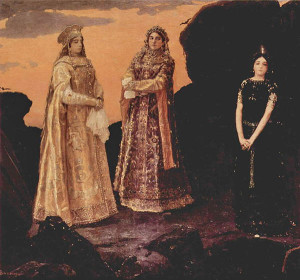 Три царевны. 1881