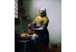 Ян Вермеер. Молочница. 1659