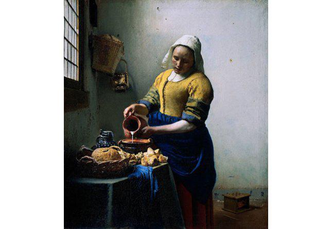Ян Вермеер. Молочница. 1658