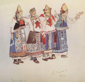 В.Васнецов. Берендейки в «Снегурочке»