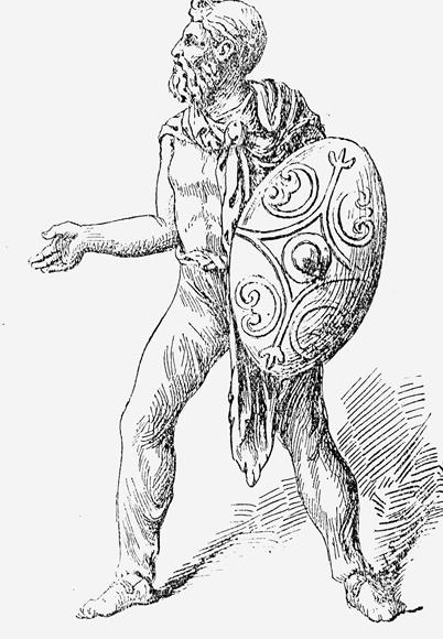 Древнегерманский воин