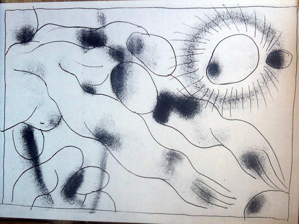 Илл.5 Из «Каталога…» - Приветствие. 1973. 21.5х15