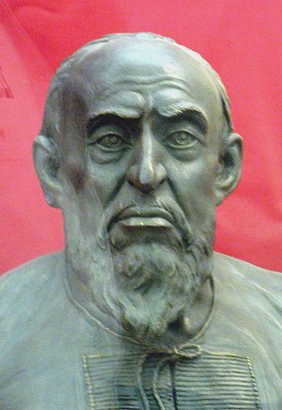 Реконструкция лица Грозного, выполненная по его черепу Герасимовым