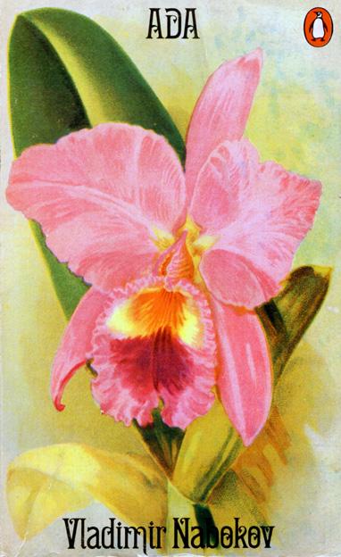 Обложка pocket-book издания (Penguin)  1970 г., к которой Набоков сам подобрал картинку - орхидею. Эти цветы любила Ада.