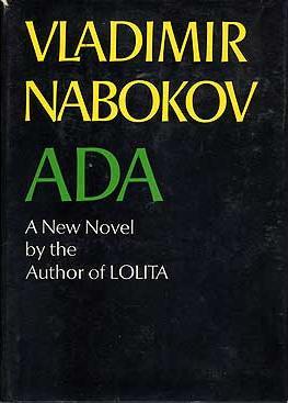 """Обложка первого издания """"Ады"""", вышедшего в мае 1969 года"""