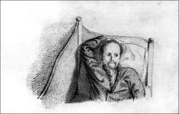 Константин Батюшков, автопортрет