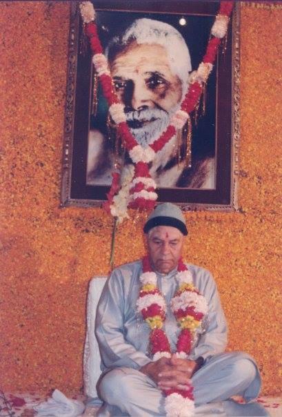 Пападжи и портрет Раманы Махарши