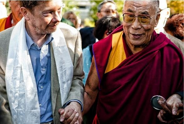 Экхарт Толле и Далай Лама
