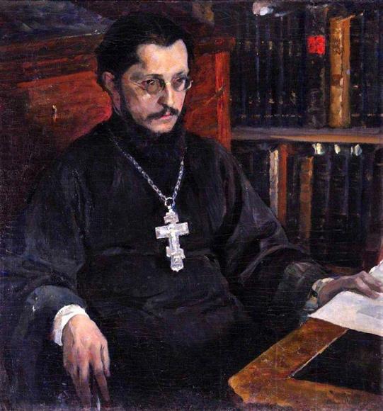 М.Нестеров. Портрет С.Дурылина. 1926