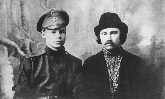Есенин и Клюев