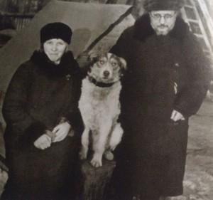 С.Дурылин с женой Ириной