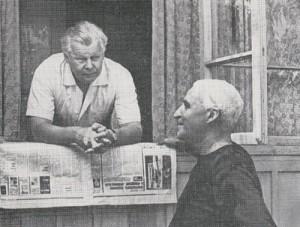 Твардовский и Симонов