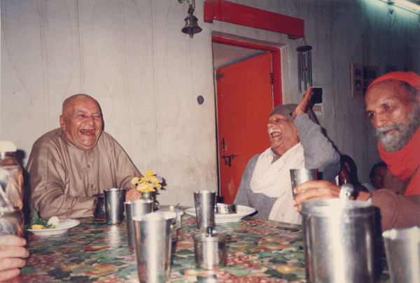 Swamiji and Papaji