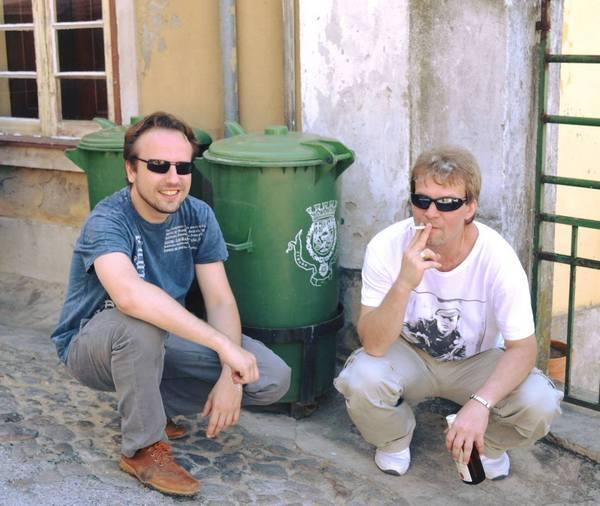А.Чанцев (слева), А.С.-Сеньков (справа)
