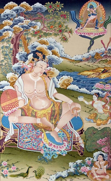 Тибетский мудрец Тилопа