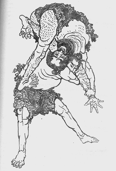 Древнеяпонская борьба