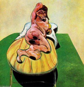 """""""Портрет Генриетты Мораес"""" Бэкона с сайта Christie's"""