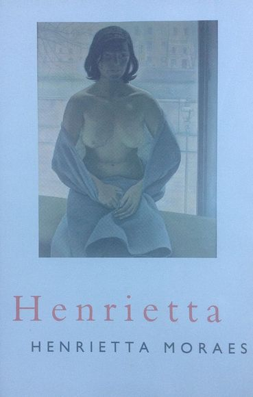 The cover of Moraes' 1994 memoir, Henrietta, reproduces Lucian Freud's Girl in a Blanket, painted in Paris in 1953 (and rarely exhibited since)