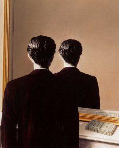 «Не для воспроизведения» (Портрет Эдварда Джеймса). Р.Магритт. 1937