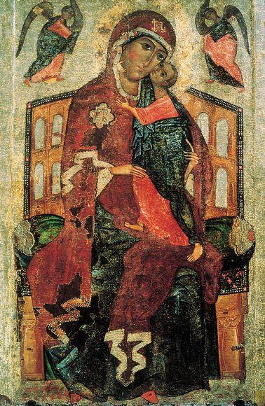Икона Толгской Богоматери