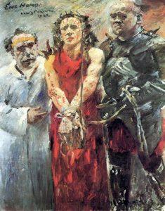 Ловис Коринт. Ecce homo. 1925