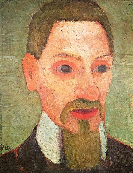 Паула Модерзон-Беккер. Портрет Рильке. 1906