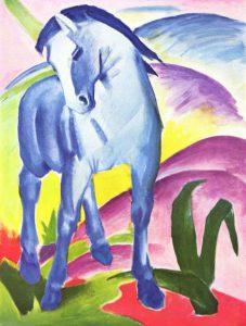 Франц Марк. Синий конь. 1911