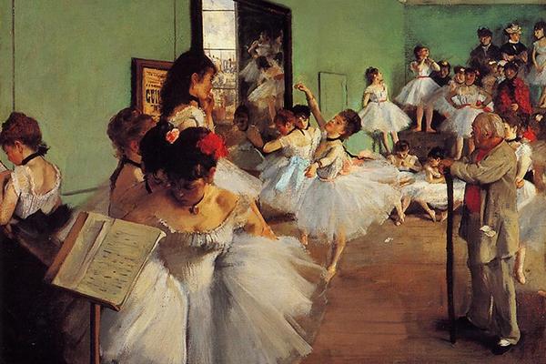 Эдгар Дега, «Танцевальный класс»