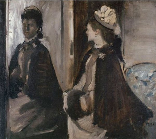 Madame Jeantaud in the Mirror