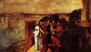 Семирамида строит Вавилон, 1861