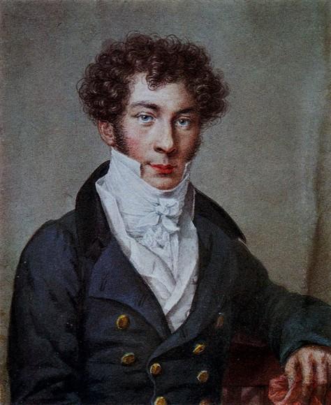 Н.Уткин. Портрет К.Батюшкова. 1815 г.