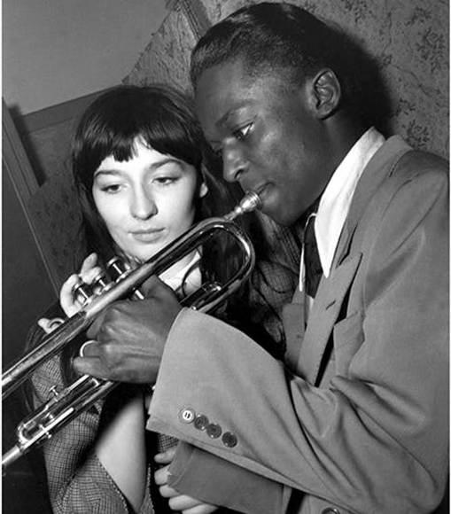 Ж.Греко и Майлз Дэвис в Саль Плейеле, Париж, 1949