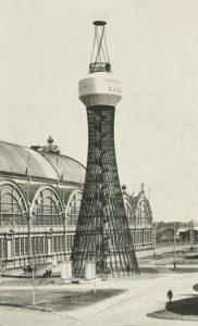 Первая в мире гиперболоидная башня Шухова