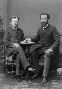 В.Шухов и А.Бари, 1880-е
