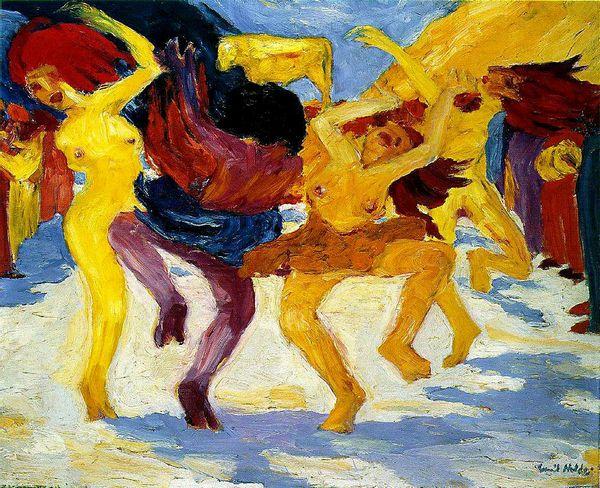 Э.Нольде. «Танец», 1910