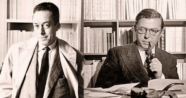 Камю и Сартр